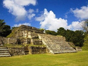 Belize Altun Ha Mayan Ruins and River Wallace Nature Excursion