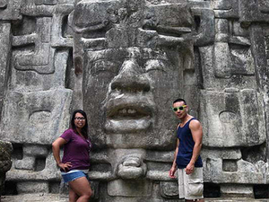 Belize Lamanai Mayan Ruins and River Safari with Lunch Excursion
