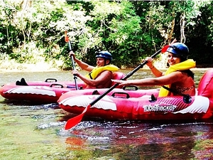 Belize Mayan Cave Rafting Adventure Excursion