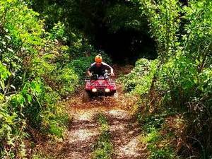 Belize Rainforest ATV and Cave Tubing Combo Excursion