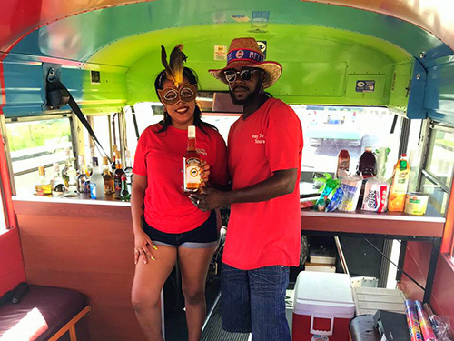 Belize Party Bus Cruise Excursion Booking