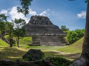 Belize Xunantunich Ruins and Cave Tubing Adventure Excursion