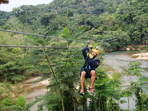 Belize Zip Line Canopy Adventure Excursion