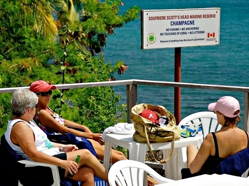 Dominica Roseau hot springs Cruise Excursion Reviews