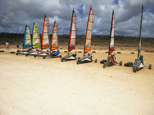 Bonaire Land Sailing Adventure Excursion