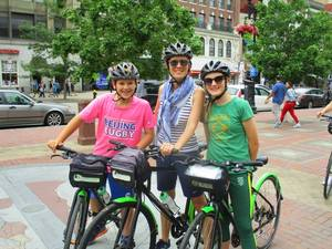 Boston City View Highlights Bicycle Excursion
