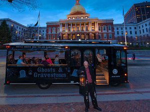 Boston Ghost and Gravestones Trolley Excursion