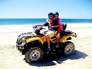 Cabo San Lucas Baja Desert and Margarita Beach ATV Excursion
