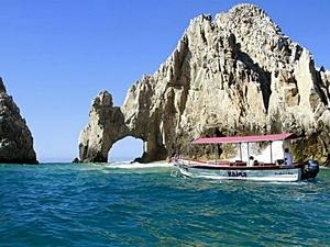 Cabo San Lucas Glass Bottom Boat and Land's End Snorkel Cruise Excursion