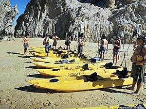 Cabo San Lucas Land's End Kayak and Snorkel Excursion