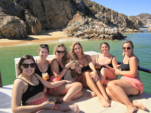 Cabo San Lucas Private La Isla Floating Fun Boat Charter Excursion