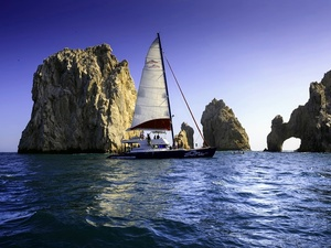 Cabo San Lucas Sea of Cortez Sail, Snorkel, Lunch and Open Bar Excursion
