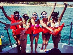 Cabo San Lucas Snorkel Fun, Buffet and Open Bar Party All Inclusive Excursion