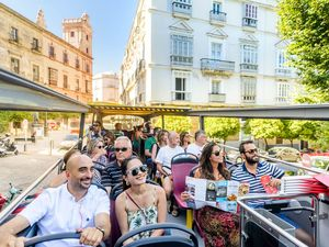 Cadiz City Sightseeing Hop On Hop Off Bus Excursion