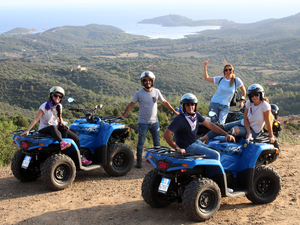 Cagliari Off-Road Quad Adventure Excursion