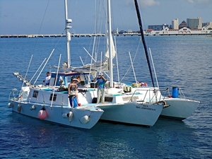 Catamaran Sail and Snorkel Excursion from Playa del Carmen