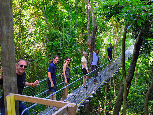 Roatan  Honduras jungle walkways Reviews