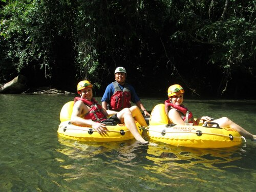 Belize gentle river float Trip Reservations