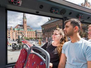 Copenhagen Hop On Hop Off City Sightseeing Bus Excursion