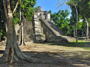 Costa Maya Dzibanche Maya Ruins Excursion