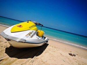 Costa Maya Waverunner Jet Ski Rental from Krazy Lobster Beach