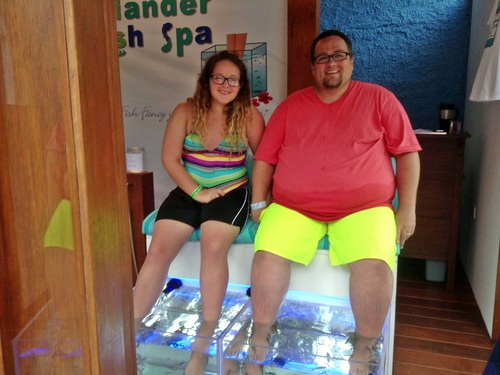Cozumel fish spa Shore Excursion Prices