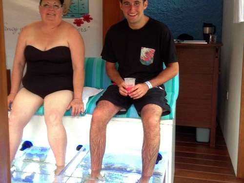 Cozumel Mexico fish spa Shore Excursion Reviews