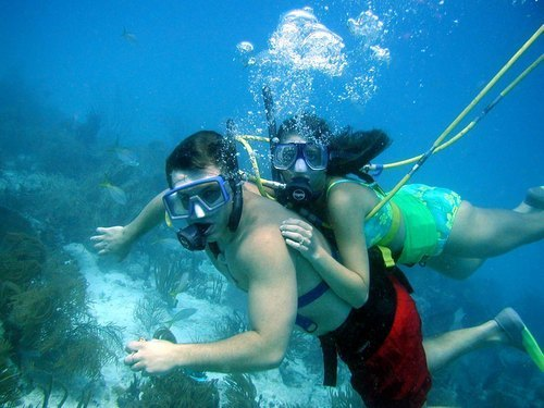 Cozumel Mexico SNUBA and Snorkel Chankanaab Adventure Park Trips Reservations
