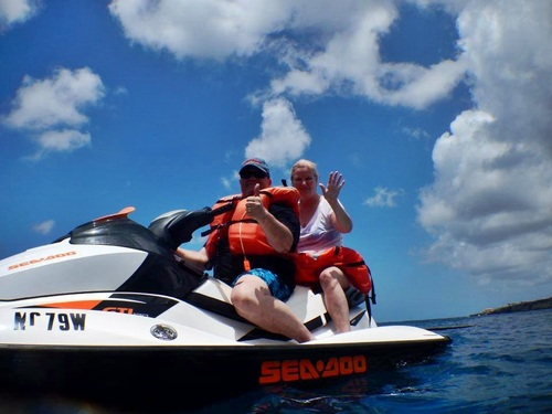 Curacao guided jet ski Tour Booking