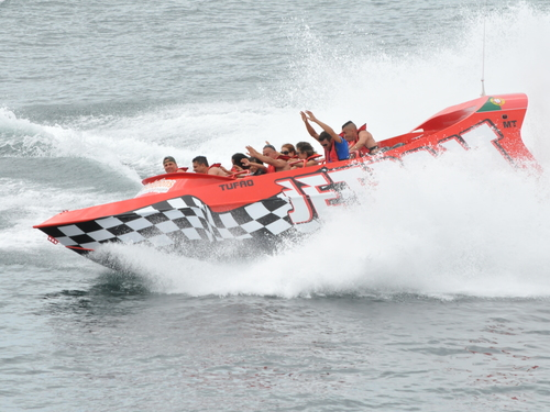 Cozumel 360 Spins jet boat Tour Cost