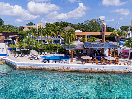 Cozumel Adults Only Beach Break Cruise Excursion Booking