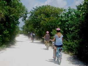 Cozumel Battery Powered Bike Punta Sur Ride Excursion, Snorkel and Lunch