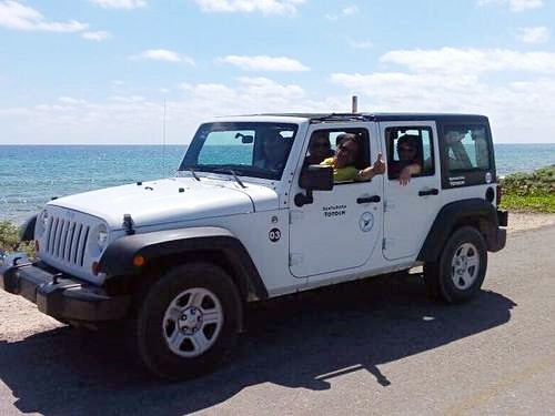 Cozumel  Mexico jeep tour Cruise Excursion Cost