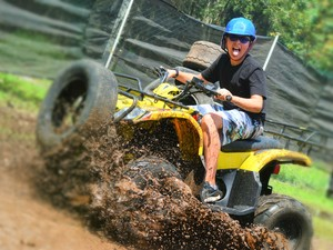 Cozumel Eco Adventure Jungle Park, ATV, Zipline, Horseback Riding, Paintball, and more!