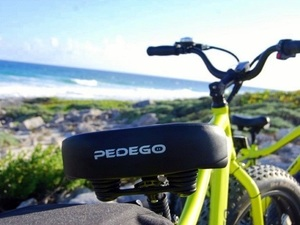 Cozumel Electric Bike Ride and Snorkel Excursion
