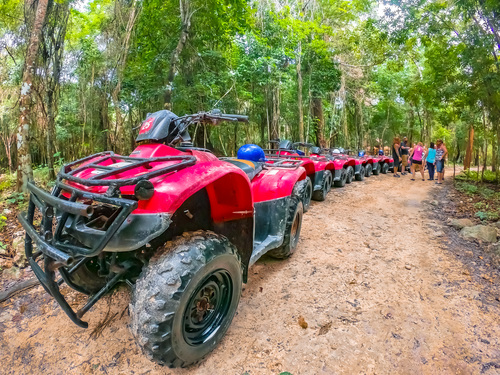 Cozumel Island all terrain driving Cruise Excursion Prices Prices