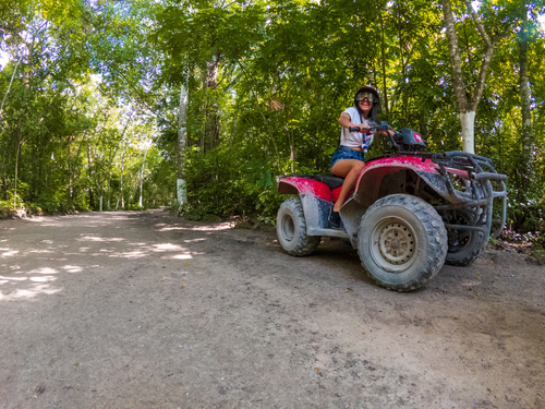 Cozumel Island all terrain driving Tour Booking Reservations