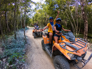 Cozumel Jungle ATV, Jade Cavern and Cenote Swim Excursion