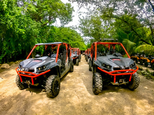 Cozumel Jungle Xrail Buggy to Jade Cavern and Cenote Swim Excursion