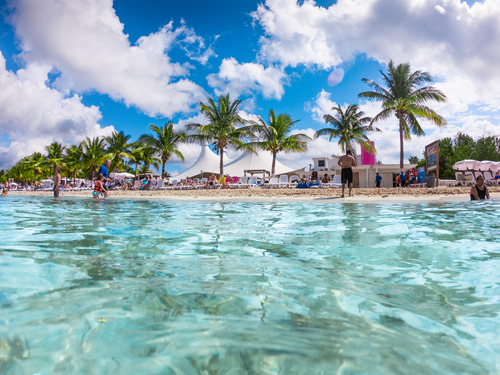Cozumel Mexico Floating Water Park  Trip Reservations