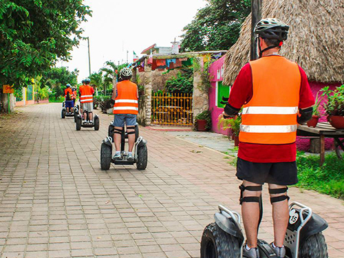 Cozumel  Mexico Old Village Segway Excursion Reservations
