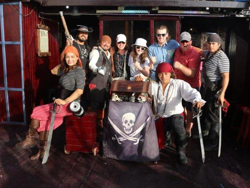 Cozumel Mexico pirate show Excursion Reviews