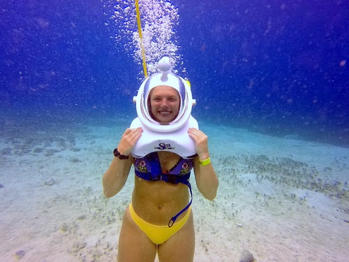 Cozumel  Mexico Sea Trek Chankanaab Cruise Excursion Reviews