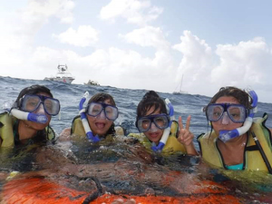 Cozumel Mr. Sanchos Beach Club 2 Reef Marine Park Snorkel Excursion by Boat