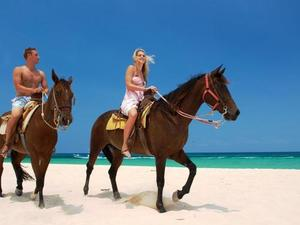 Cozumel Mr. Sanchos Beach Horseback Riding Excursion