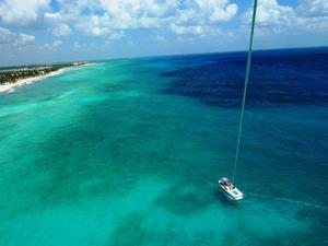Cozumel Parasailing at Occidental Grand Resort