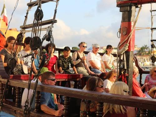 Cozumel pirate dinner Cruise Excursion Prices