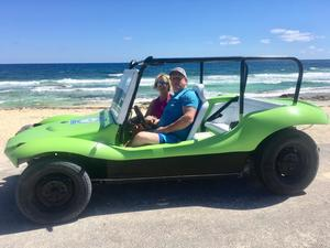 Cozumel Private Dune Buggy, Island Highlights, Snorkel and Lunch Excursion