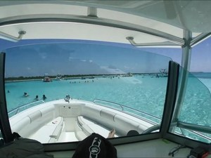 Cozumel Private Marine Park Snorkel and El Cielo Sandbar Powerboat Excursion