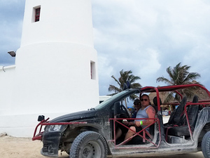 Cozumel Punta Sur Dune Buggy Adventure Excursion